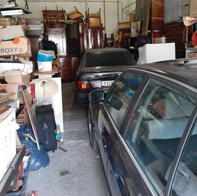 Arcax Entrümpelung Garage