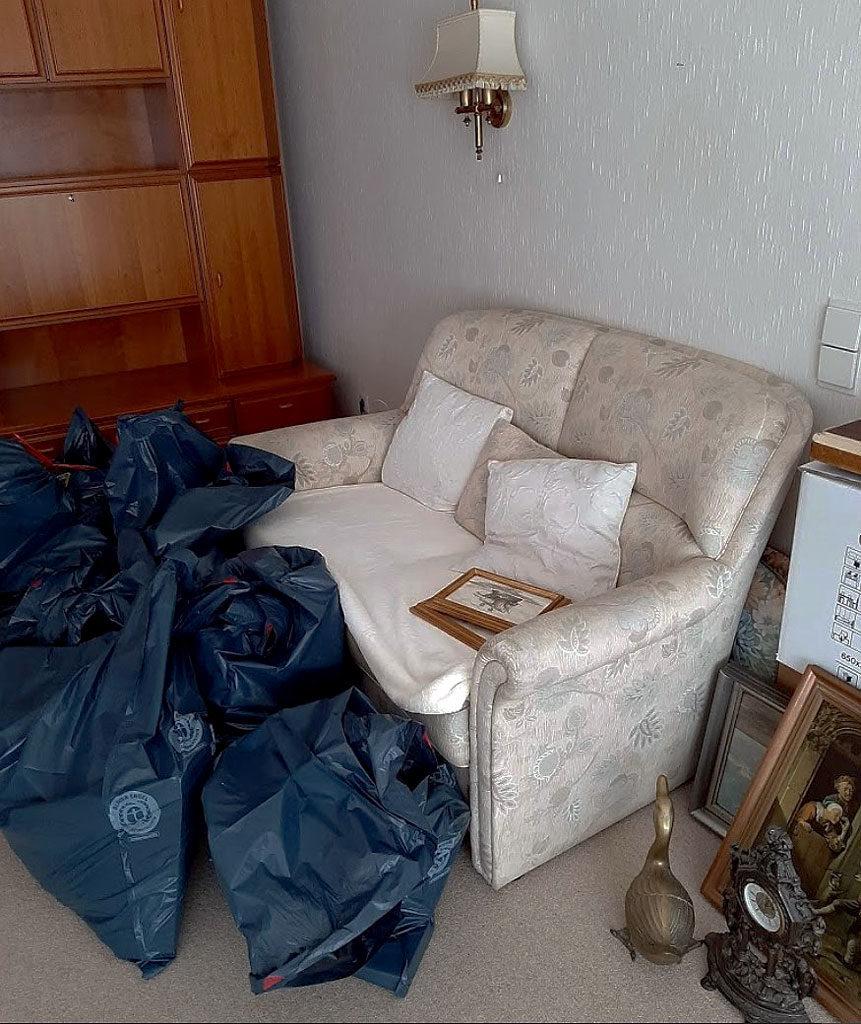 Arcax Teilumzug Wohnzimmer